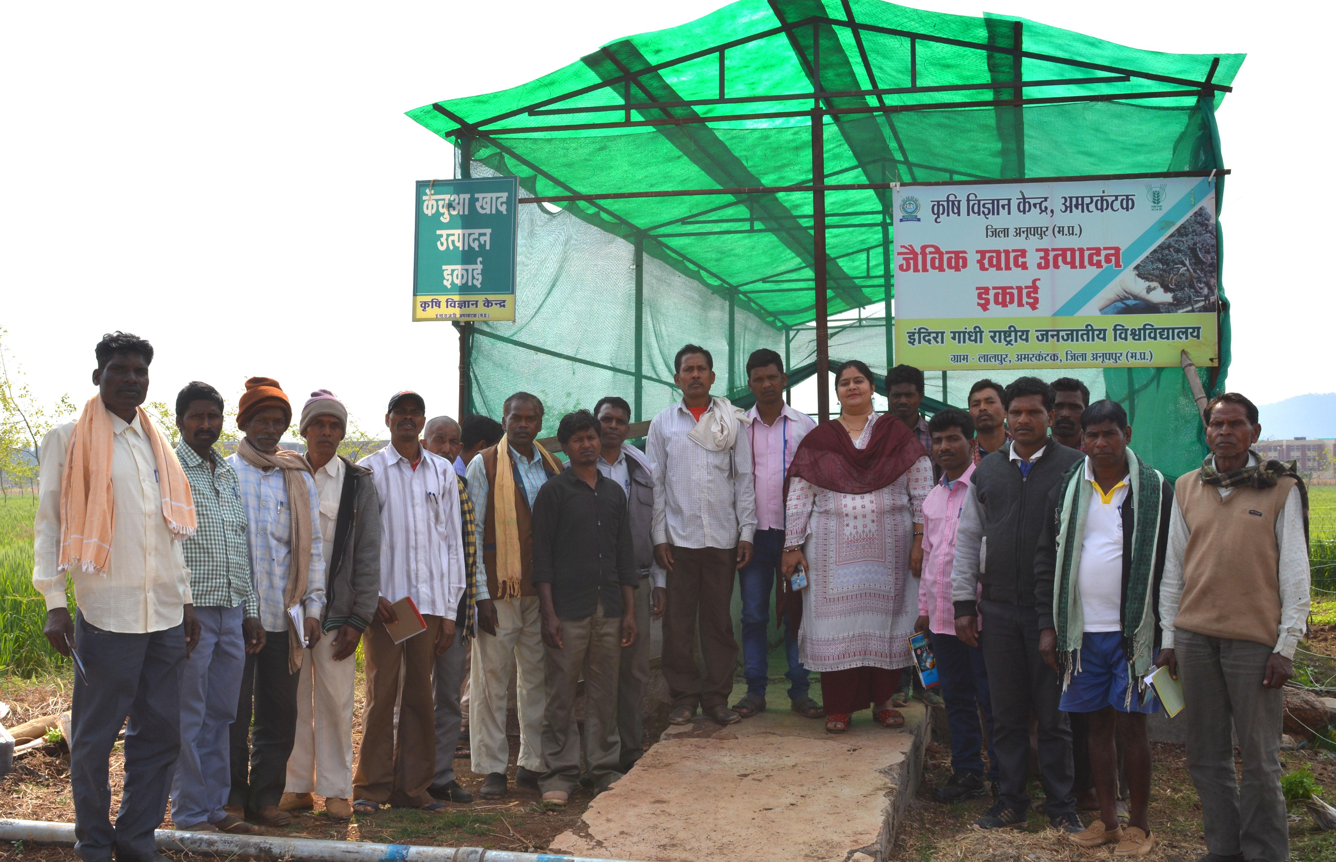 तीन गांव के किसानों ने जाना बर्मी कम्पोस्ट खाद क्यों है जरूरी, वैज्ञानिकों ने दिया प्रशिक्षण