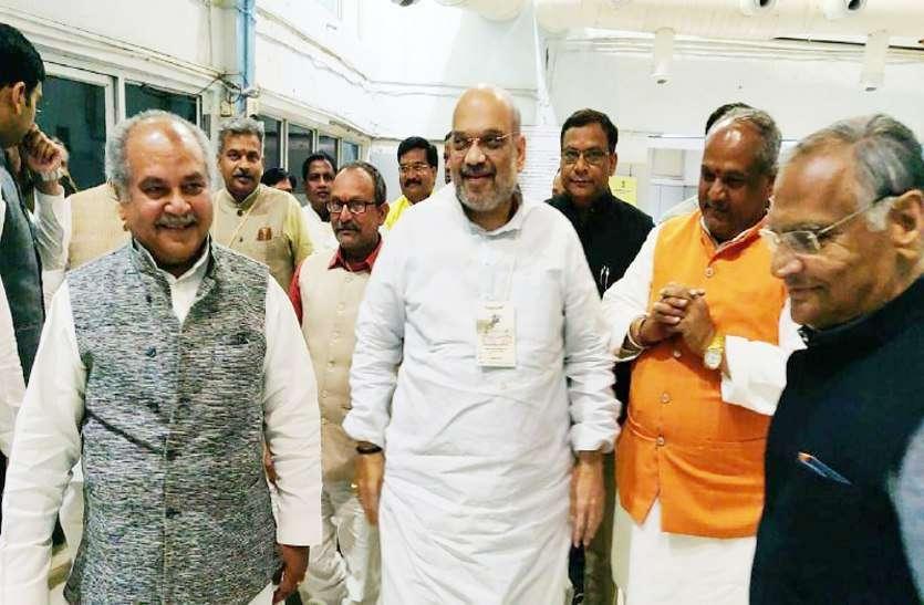 अमित शाह ने RSS वालों को दिया वचन, कहा लोकसभा चुनाव 2019 के बाद...