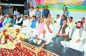 एक वोट से दो सरकारें चुनें चंबल के लोग : राकेश सिंह
