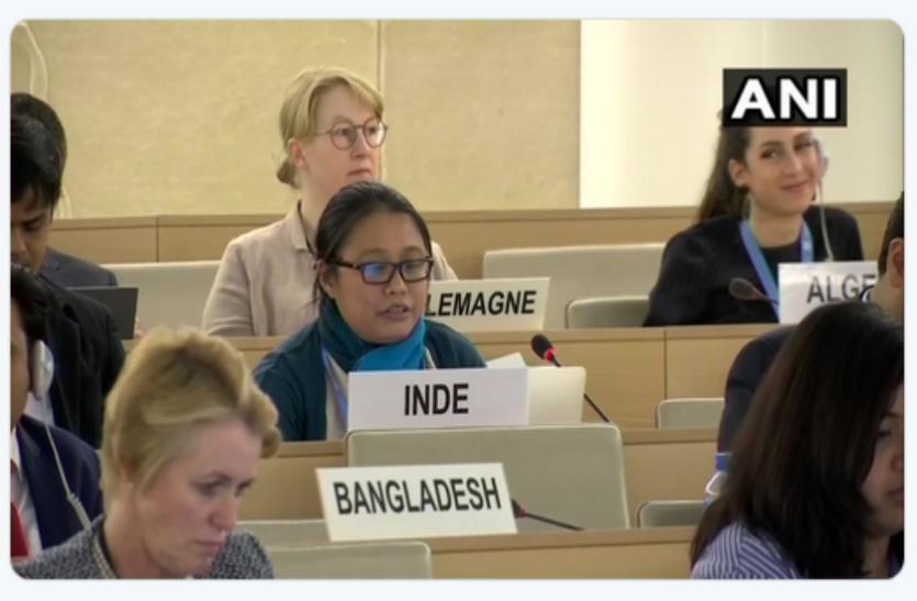 UNHRC में भारत ने पाक को किया बेनकाब, 'पाकिस्तान ने POK में लोगों को मूल अधिकारों से किया वंचित'