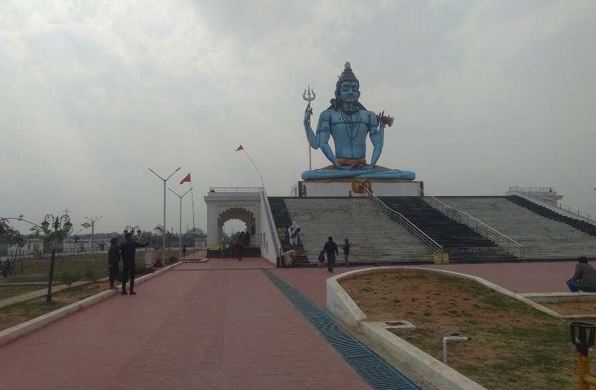 यहां है भगवान शिव की 60 फिट ऊंची भव्य प्रतिमा, 12 ज्योतिर्लिंग के होते हैं दर्शन लेकिन इस चीज के लिए तरसते हैं पर्यटक