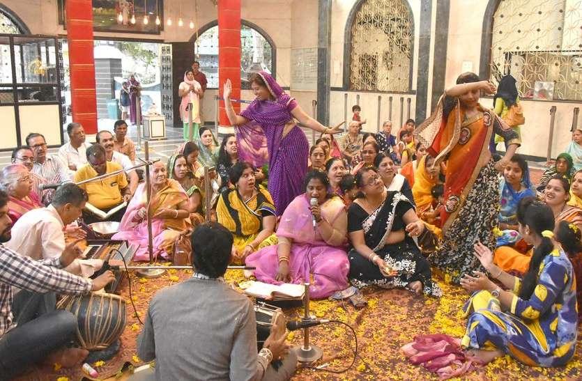 रतलाम:- साईं मंदिर में मनाया फ़ाग उत्सव।