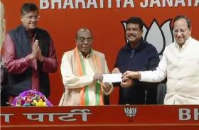 ओडिशा में बीजेपी को मिली बड़ी कामयाबी, पूर्व मंत्री दामोदर राउत भाजपा में शामिल