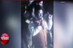 VIDEO: उर्दू गेट टूटने से आजम खान के बाद सपा के इस नेता का भड़का गुस्सा, दे दी कत्ले आम की धमकी, वायरल हो रहा वीडियो