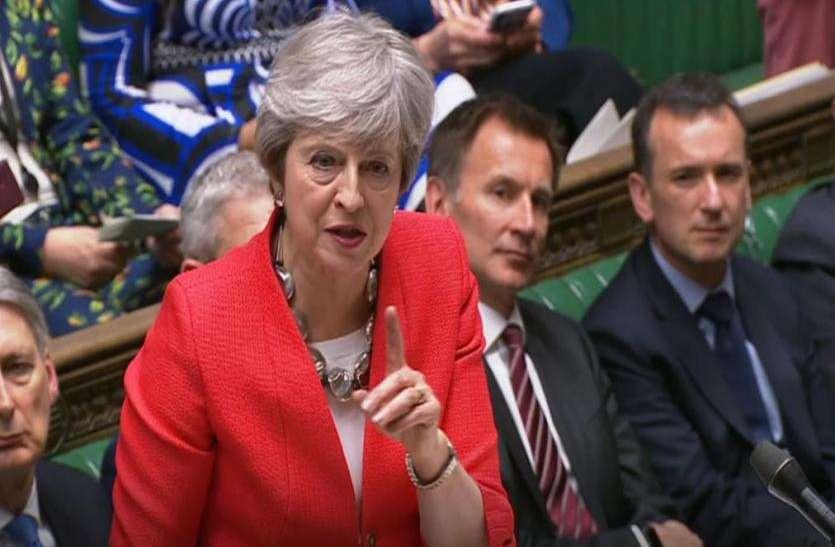 ब्रिटेन: संसद ने खारिज किया नो-डील ब्रेग्जिट का प्रस्ताव, पीएम थेरेसा मे की मुश्किलें बढ़ीं