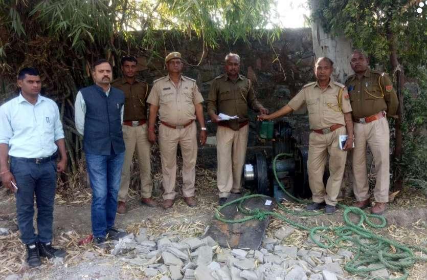तीन अवैध आरा मशीन संचालक गिरफ्तार