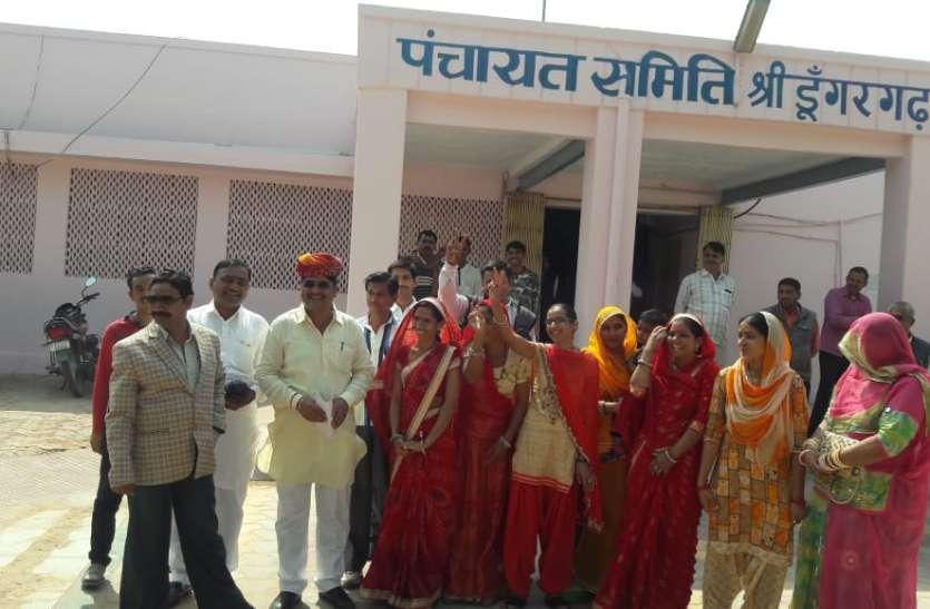 कांग्रेस के गोदारा बने श्रीडूंगरगढ़ उपप्रधान