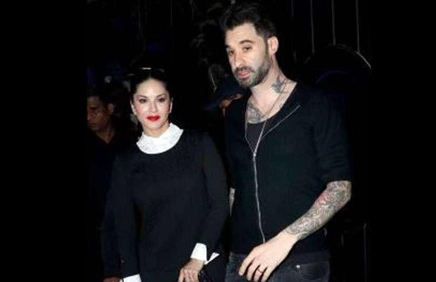 Sunny Leone and husband Daniel Weber photos