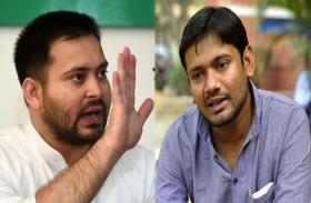 तेजस्वी के चलते बेगूसराय में अटक सकती है कन्हैया कुमार की गाड़ी