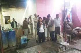डबरा एसडीएम जयति सिंह ने पकड़ी अवैध रायल्टी देने वाली गैंग
