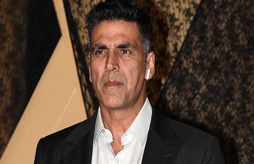 Kesari actor akshay kumar angry on reporter ask about ajay devgn