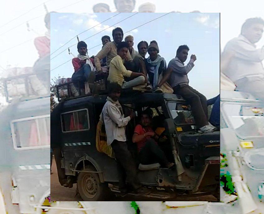 video कार में बस से भी ज्यादा सवारियां देखकर रह जाएंगे दंग