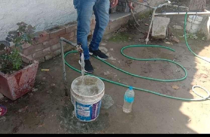 श्रीगंगानगर में दूषित जलापूर्ति से पुलिस भी बेबस