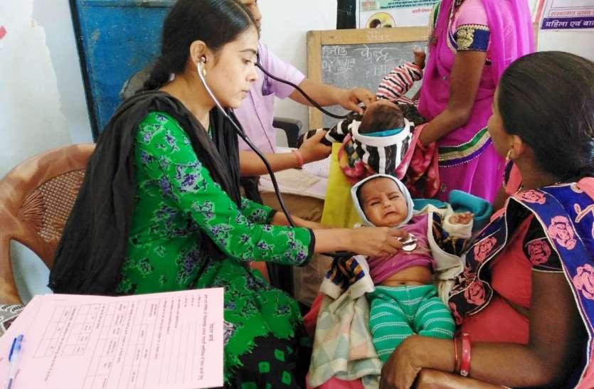 सभी गांवों में हो रहे नि:शुल्क महिला स्वास्थ्य शिविर के आयोजन