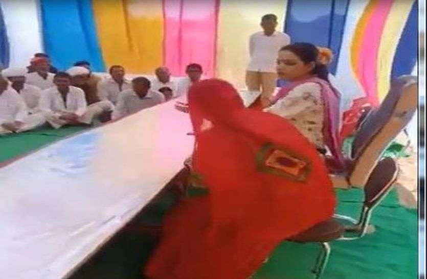 Video Viral  : ओसियां विधायक दिव्या मदेरणा एक बार फिर चर्चा में