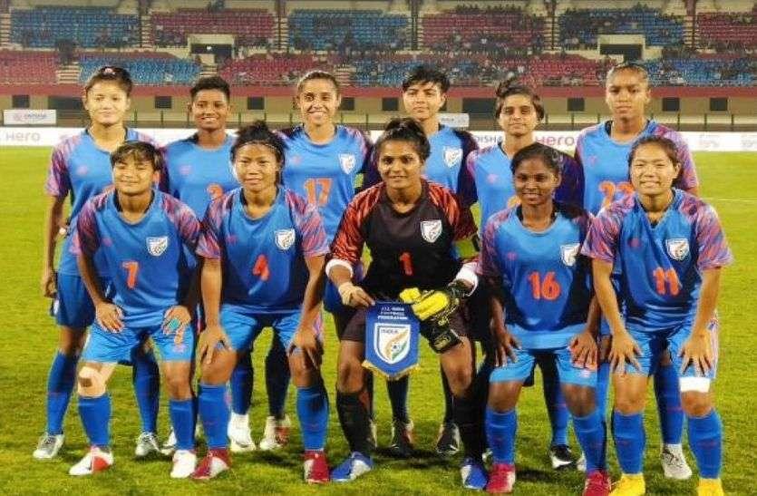सैफ कप के सेमी फाइनल में पहुंची महिला भारतीय फुटबॉल टीम