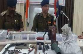 सुनसान इलाके में पुलिस ने मारा छापा, एक साथ बरामद हुई यह चीजें