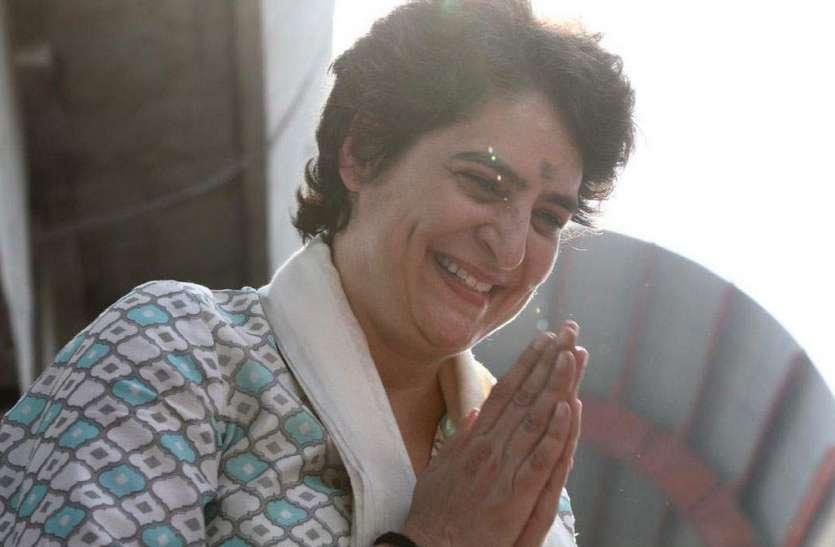 यूपी पहुंचते ही प्रियंका गांधी ने लिखा पत्र, कर दिया बड़ा ऐलान, कांग्रेसियों में दौड़ी खुशी की लहर