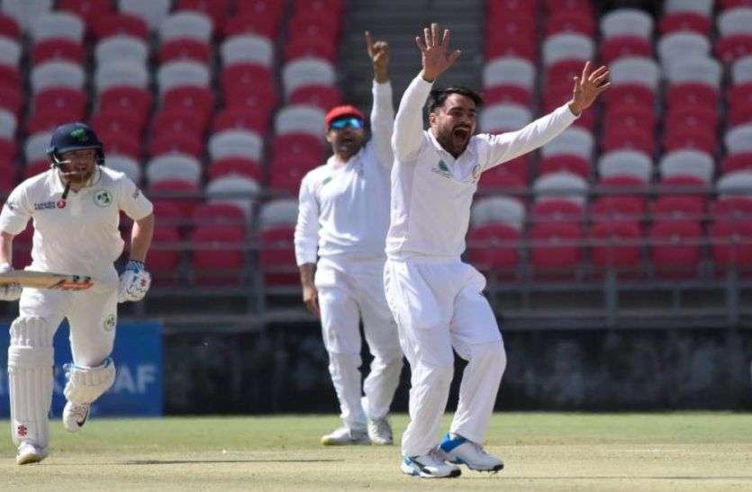 ऐतिहासिक टेस्ट में आयरलैंड ने अफगानिस्तान को जीत के लिए दिया 147 रनों का लक्ष्य