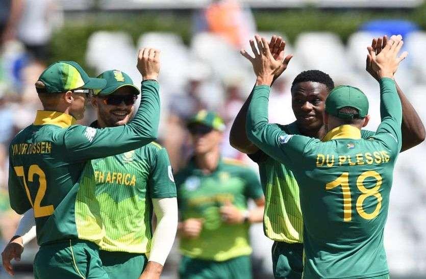 डकवर्थ लुइस मेथड के आधार पर पांचवां वनडे जीत द. अफ्रीका ने श्रीलंका का किया क्लीप स्वीप