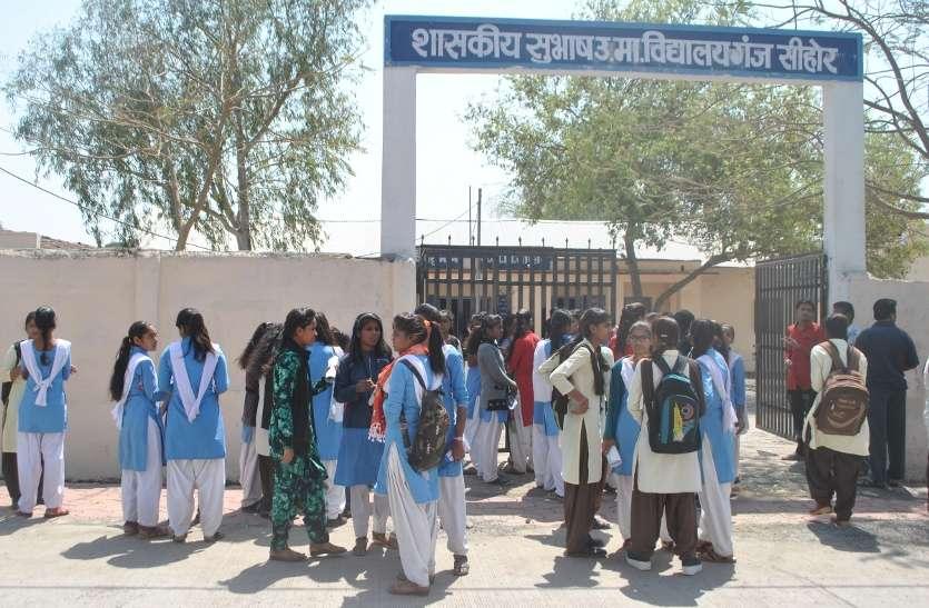 वारदात के बाद भी होमगार्ड सैनिकों के हवाले परीक्षा केन्द्र