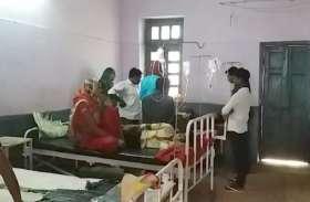 डायरिया से सुनवारा में 34 बीमार, स्वास्थ्य अमला पहुंचा गांव