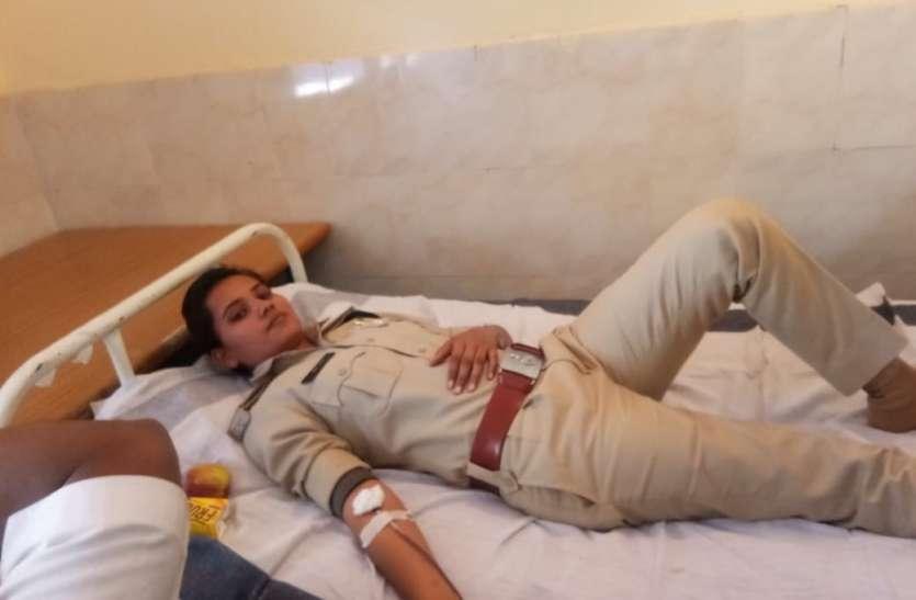 दान में जुटा 42 यूनिट खून,बचेगी लोगों की जिंदगी