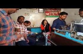 VIDEO: खाद्य विभाग की टीम को देखकर दुकान बंद कर भागने लगे,मावा-मिठाई दुकानदार