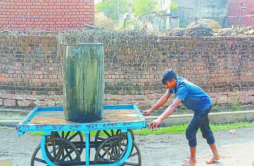 तीन दिनों से शहरवासियों को खारा पानी सप्लाई कर रहा नगर पालिका