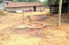बसाहट महज दिखावा, बिन बिजली, पानी और सडक़ के जीवन गुजारने मजबूर जामपाली माइंस से प्रभावित ग्रामीण