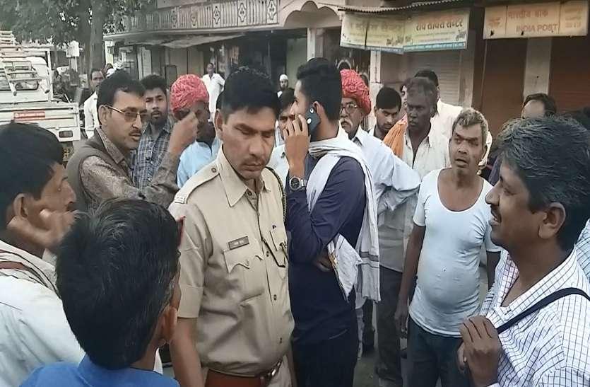VIDEO : बस नहीं रोकी तो रोडवेज कंडक्टर से मारपीट, आलनपुर में हंगामा, पुलिस पहुंची मौके पर