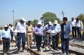उदयपुर-चित्तौैड़ के बीच सौ किमी प्रति घंटा की स्पीड़ से दौड़ी विद्युत ट्रेन