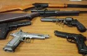 चुनाव से पहले चार जिलों में अवैध हथियारों की खेप