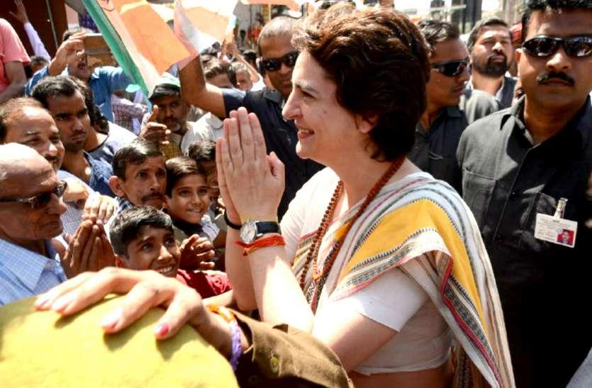 VIDEO STORY : इंदौर में रोड शो के लिए प्रियंका गांधी का इंतजार