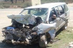 मातम में बदलीं खुशियां : ट्रक ने तवेरा को मारी जबरदस्त टक्कर, छठी कार्यक्रम से लौट रहे 2 की मौत, 7 गंभीर