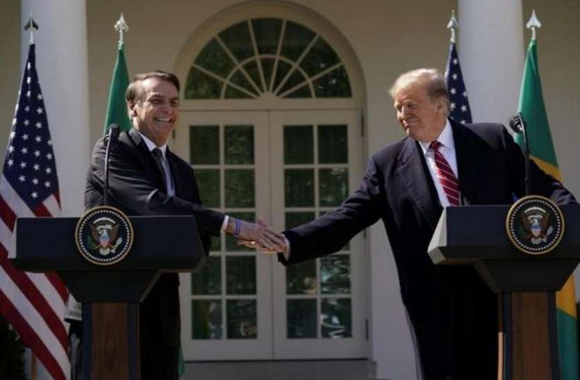 डोनाल्ड ट्रंप का ऐलान,  गैर-नाटो सहयोगी के रूप में ब्राजील को नामित करने के लिए प्रतिबद्ध है अमरीका