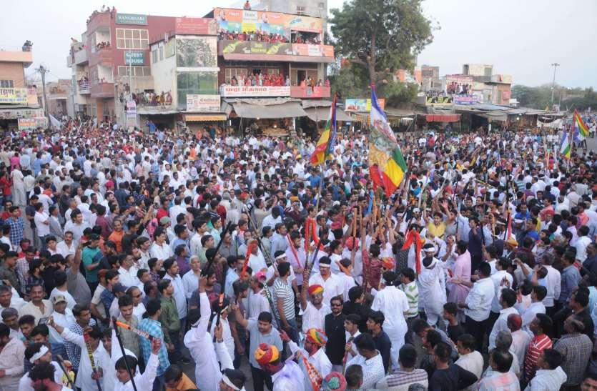 मारवाड़ की सबसे अनूठी ''रावजी की गेर'', देखें तस्वीरें...