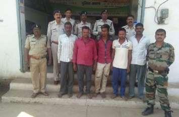 लाठियों से पीटकर युवक की हत्या करने वाले पांच आरोपित गिरफ्तार, एक अब भी फरार