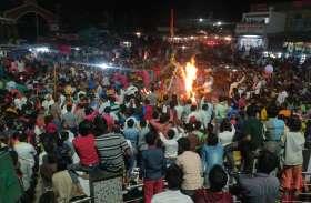जिले भर में धूमधाम से मनाई होली