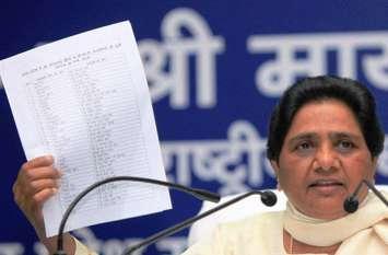 बसपा चीफ मायावती ने जारी की प्रत्याशियों की लिस्ट, कानपुर मंडल की दो सीटों पर संशय बरकरार
