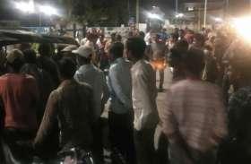 सीधी में मौत के दूसरे दिन हुआ बवाल, आरोपी की गिरफ्तारी को लेकर चक्काजाम