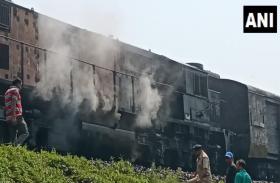 चंडीगढ़-डिब्रूगढ़ एक्सप्रेस में आग, चलती ट्रेन से कूदने पर 2 की मौत