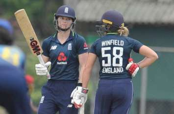 महिला क्रिकेट : इंग्लैंड ने श्रीलंका को 8 विकेट से करारी शिकस्त दी