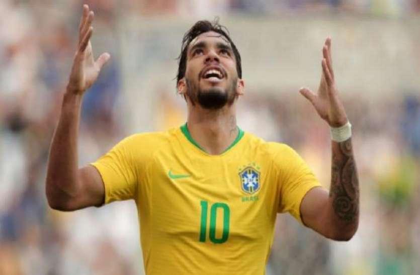 फुटबाल : ब्राजील ने दोस्ताना मुकाबले में पनामा से खेला ड्रॉ