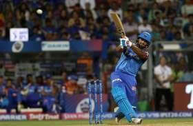 MI vs DC : मुंबई इंडियंस के युवराज के अर्धशतक पर पंत की पारी पड़ी भारी, दिल्ली 37 रनों से जीता