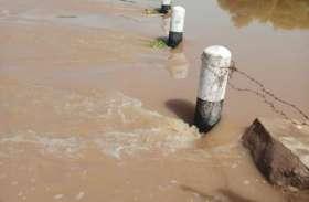 अशुद्ध जल से दूषित होती घग्घर नदी