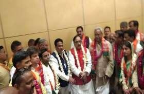 अमित शाह की रैली होते ही भाजपा ने किया बड़ा धमाका, कई बड़े सपा, बसपा, कांग्रेस नेता शामिल