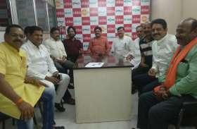 #sunday_political_club शहर के बुद्धिजीवी लोगों से लोक सभा चुनाव पर की गयी चर्चा