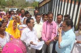 पेयजल समस्या को लेकर जागपुर के ग्रामीणों ने किया चुनाव बहिष्कार का ऐलान