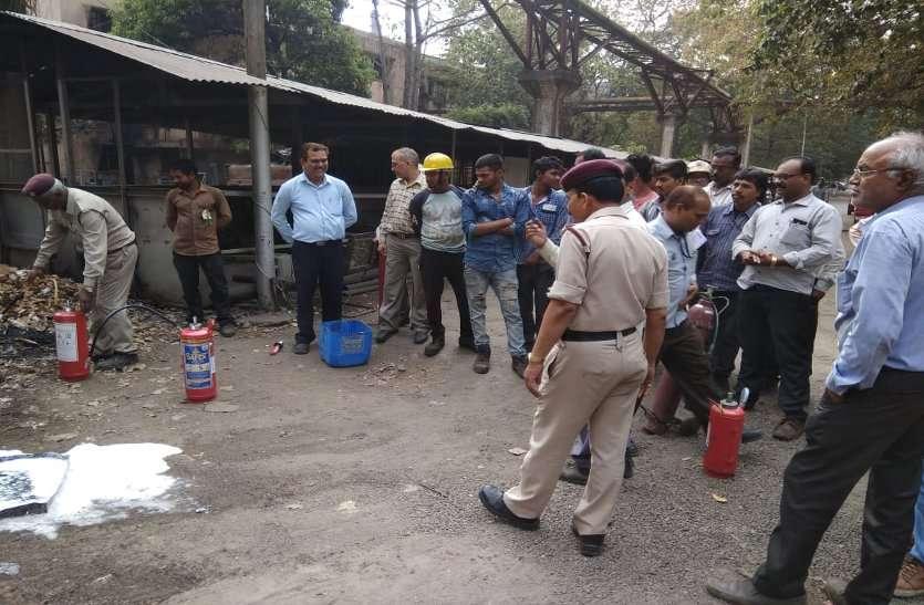 बीएसपी 2019 में शून्य दुर्घटना की दिलाई शपथ